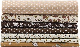 Bomullstyg blandade fyrkanter sängkläder svit gör-det-själv mjukare bekväm textur för sovrumsdekoration (25 x 25)