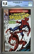 amazing spider man 361 cgc 9.8