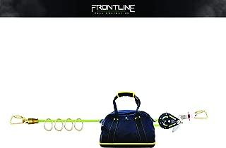 Frontline HLK1004 4 person 100ft Adjustable Horizontal Lifeline System with 6ft Anchor Straps