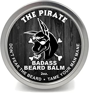 Badass Beard Careビアードバーム2オンスThe Pirate