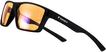 HORUS X - Blue Light Blocking Glasses - Gaming Glasses - Ultimate protection - Professional Powerful Filter | Anti Glare A...