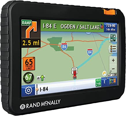 Amazon com: Rand McNally - Voice Command / Vehicle GPS / GPS