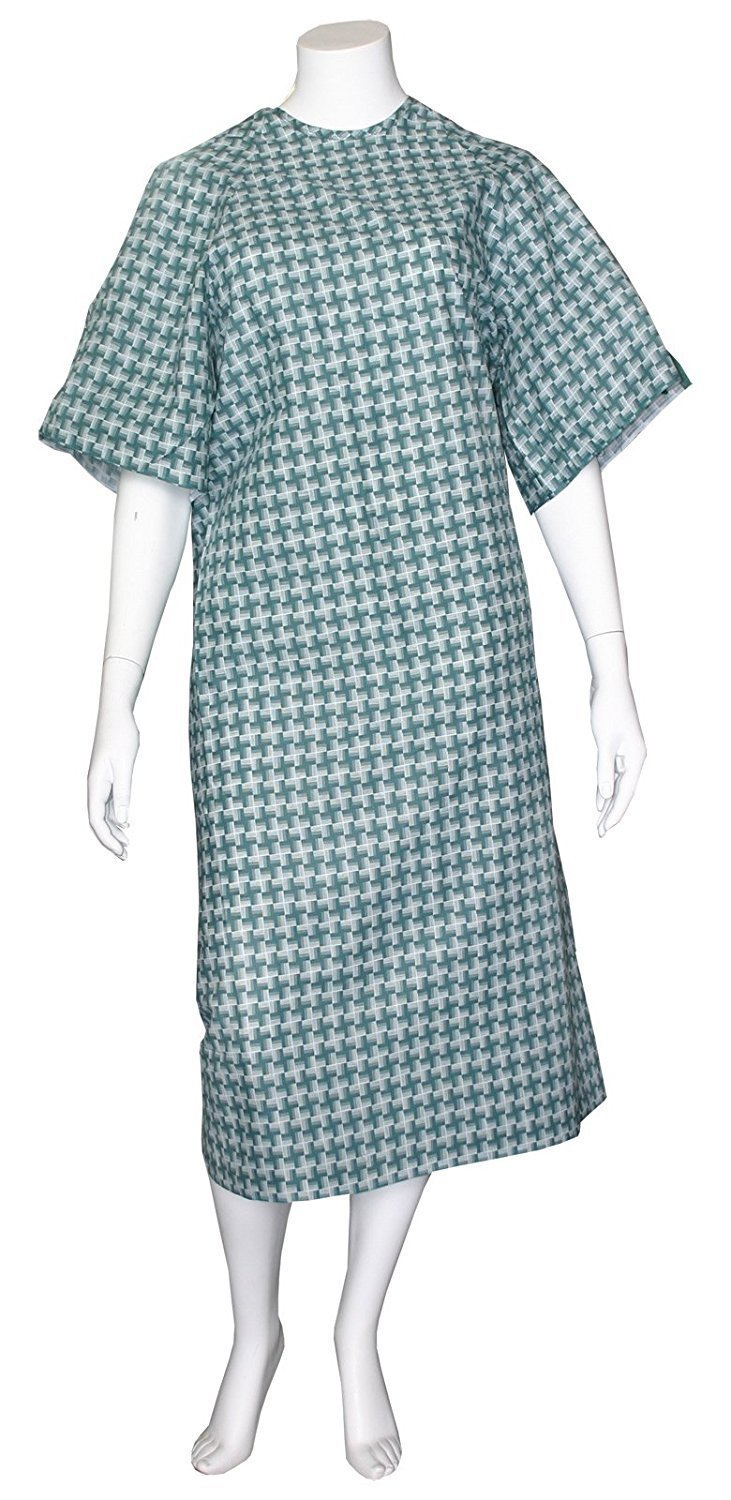 Unisex Illusion Multi Purpose Gown Seattle Mall I.V. of Sleeves Weekly update 12 Pack -