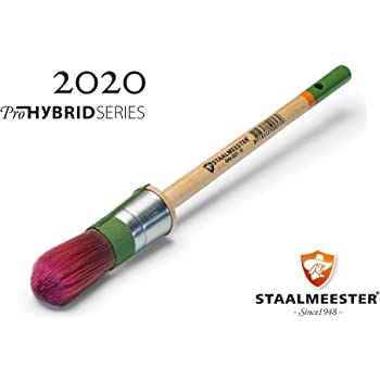 Staalmeester Brush - AA - Round Synthetic Pro-Hybrid 2020 Series - #18 (33mm) - 1.3 inch