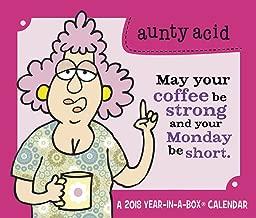 Best aunty acid daily calendar 2018 Reviews