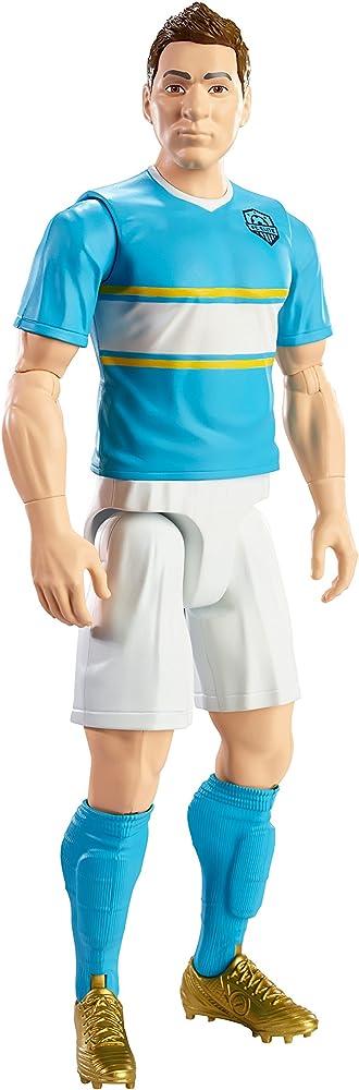 Mattel,personaggio calciatore messi, 30 cm DYK84