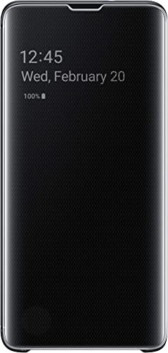 high quality SAMSUNG online sale Original Galaxy S10e high quality Protective Clear View Folio Cover Case - Black outlet online sale