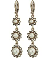 Marchesa - Pearl Linear Earrings