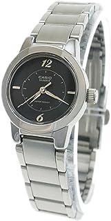 """ساعة يد للسيدات من """"كاسيو"""" انالوج بعقارب ورقمية، بسوار من الستانلس ستيل"""