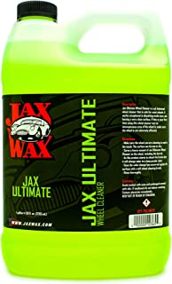 Jax Wax Ultimate Wheel Cleaner - Tire and Rim Washing Spray, 1 Gallon