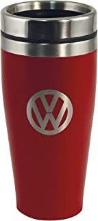 BRISA VW Collection - Volkswagen Bus T1 Camper Van Kombi Insulated Stainless Steel Tumbler, Thermo Mug (Double-Walled/400m...