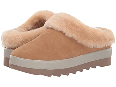 Cougar Pronya Waterproof (Camel Suede/Shearling) Women