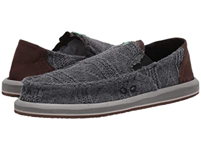 Sanuk Pick Pocket Knit (Dark Charcoal) Men