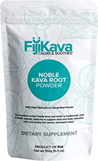 Fiji Kava, Instant Extract Powder from 100% Certified Noble Kava from Fiji, Premium Quality, Induces Sleep,...