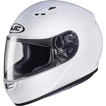 HJC Red//Black//Grey CS-R3 Trion Full Face Motorcycle Helmet DOT Entry-Level