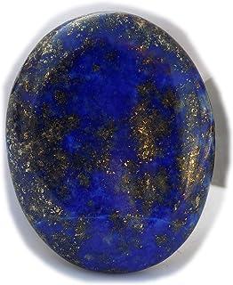 The Best Jewellery Lapis Lazuli cabochon, 32Ct Lapis Lazuli Gemstone, Oval Shape Cabochon For Jewelry Making (29x22x4mm) S...