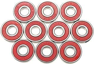 REFURBISHHOUSE 10x de ABEC-9 Rodamientos Skateboard Super velocidad rapida de rodamientos de acero 608-2RS