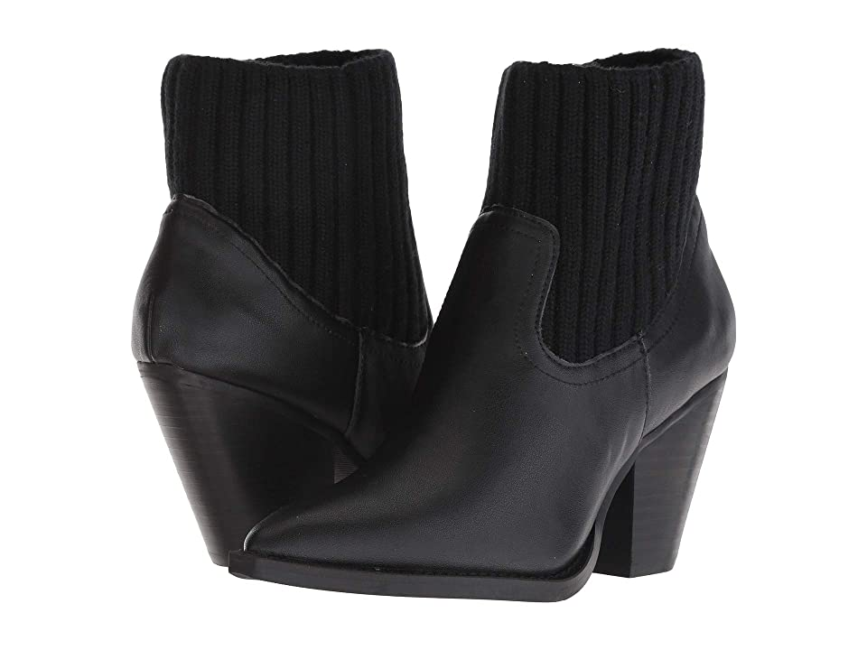 JANE AND THE SHOE Margot (Black Leather) Women