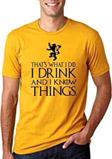 i drink and i know things ugly sweater