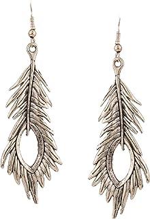 Indian Earrings UNISEX Tribal Earrings Alternative Earring Silver ARROWHEAD NICKELFREE Festival Jewellery Brass Jewellery Earrings