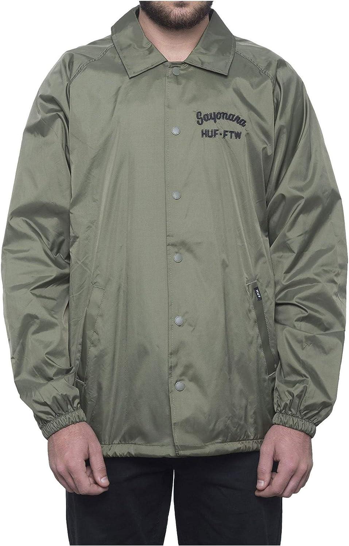 HUF mens Sayanora Coaches Jacket