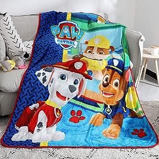 FairyShe Paw Patrol Blanket Cartoon Kids Plush Throw...