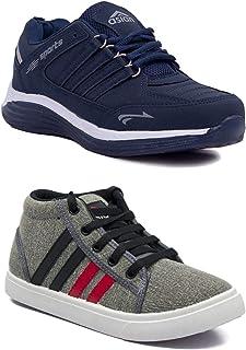 ASIAN Boy's Mesh Walking Shoes,Running Shoes Sport & Casual Shoes (UK-5) Grey
