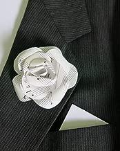 Sheet Music Boutonniere, Rose Lapel Pin, Handmade Paper Flower