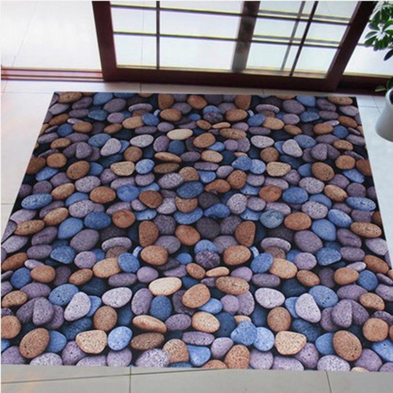 Indoor mat Indoor mats Door,[Hall],Living Room Indoor mat Foot pad Anti-Slip mats-A 50x180cm(20x71inch)