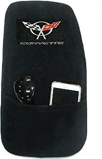 Seat Armour KACORC5B Custom Fit 'Konsole Armour' Center Console Cover for Chevrolet Corvette C5 Models (Black)