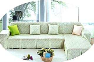 Love & Freedome Thicker Cover Sofa Towels for Couch Sofa Pastoral Slipcover capa de Sofa Covers Polyester Use Single/Double/Three/Four,Sofa Cover 5,Pillowcase with core