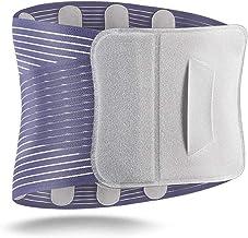 RENTOOR Taille Ondersteuning Mannen Vrouwen Ademende Buik Belt Steel Plate Taille Belt Prevent Lumbale Spierspanning (Size...
