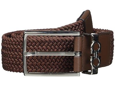 Salvatore Ferragamo Sized Belt 67A203 (New Brown) Men