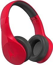 Motorola Pulse Escape Wireless Over-Ear Headphones - Alexa Enabled - Red (SH012RD)