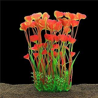 rettile Bbl345dLlo in plastica artificiale 30 cm Verde Piante artificiali decorazione per acquario