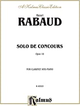 Solo de Concours, Op. 10: Part(s) (Kalmus Edition)