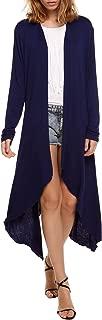 Long Cardigan Sweaters for Women, Women's Waterfall Asymmetric Long Open Front Drape S-XXL