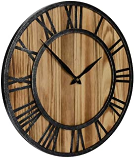 Best oak wood wall clocks Reviews