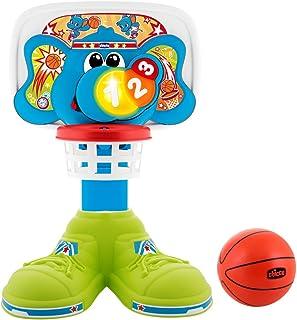 Chicco - Bascket 123 divertida canasta de baloncesto con luces y melodías