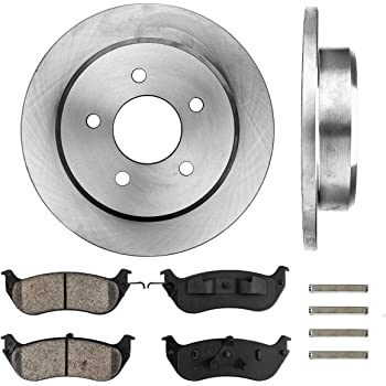 1998 Mercury Grand Marquis OE Replacement Rotors w//Metallic Pads R See Desc