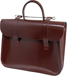 Oxford Traditional Leather Traditional Classic Leather Music Case (MC1-W)