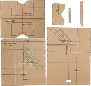 Sac à main faisant modèle acrylique modèle portefeuille en cuir modèle ensemble faisant kit de pochoir pour sac à main acc...