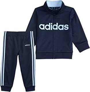adidas Boys' Bos Tricot Jogger Tracksuit 2-Piece Set
