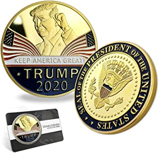 Indeep Trump Coin 2020 Keep America Great - United States Presidential Challenge Coin Collectible