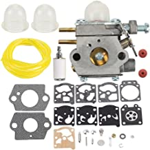 Hilom Carburetor with Fuel Filter Line for WT-973 MTD 753-06190 MTD Craftsman Bolens Murray Cub Cadet String Trimmer Weed Wacker Troybilt TB21EC TB22EC TB32EC TB42BC Yard Man Y2500 Y2550EC Trimmer