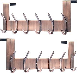5er Set PAMO S Haken Rose Kupfer aus Metall K/üchenhaken aus Edelstahl zum Aufh/ängen von Pfannen in der K/üche oder Kleidung an der Kleiderstange S-Haken Stahl rostfrei 5, Rosegold