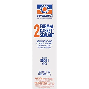 Permatex 80011 Form-A-Gasket #2 Sealant, 11 oz., Pack of 1