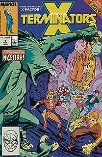 X TERMINATORS (1988)1-4 X-MEN SPIN-OFF !