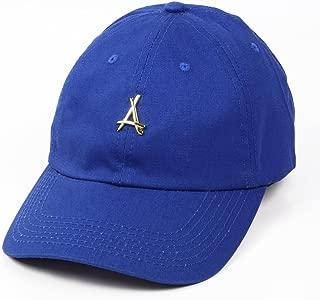 """Tha Alumni Clothing (アルムナイクロージング) ロゴ 6パネル ストラップバックキャップ ロイヤルブルー""""24K ROYAL DAD HAT"""" [並行輸入品]"""