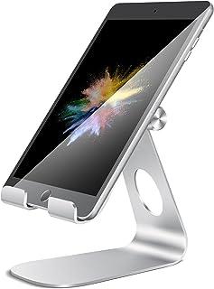 タブレット スタンド ホルダー 角度調整可能, Lomicall iPad用 stand : 卓上縦置きスタンド, タブレット置き台, デスク台, タブレット対応(4~13''), アイフォン, アイパッド ミニ エア プロ, iPad, iPad mini, iPad Air, iPad Pro 9.7 10.5 11 12.9, Samsung S7 S8 Note 6, Kindle, Samsung Tab, Sony, Huawei MediaPadに対応